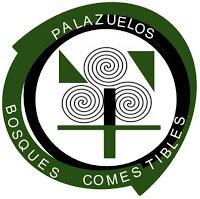 Logo del bosque comestible de palazuelos