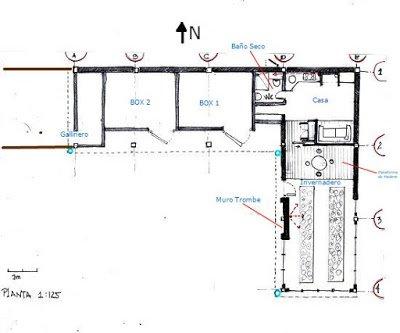 Diseño de casa ecológica del bosque comestible de palazuelos
