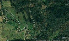 Localización del bosque comestible del Subiuriu 1