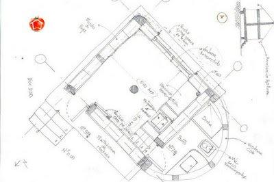 Diseño de Casa de Paja para el Bosque de Alimentos de Aigina