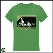 Camiseta Mujer Verde