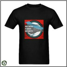 Camiseta Negra para Hombre