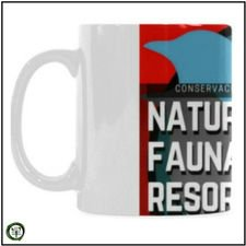Taza de Cafe, Ceramica de Natural Fauna Resort
