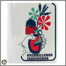 Taza Cerámica Blanca Guerrilleros Jardineros
