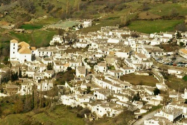 Bubión Pueblo en Granada.