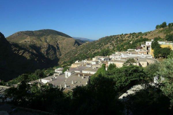 Busquístar pueblo de Granada.