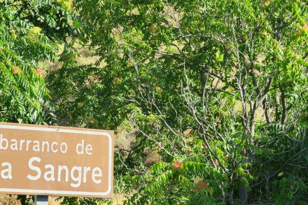 Pitres, Barranco de Sangre