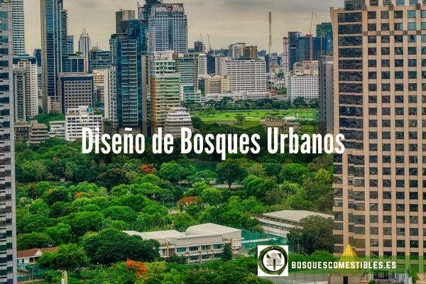 diseño de bosques en las ciudades