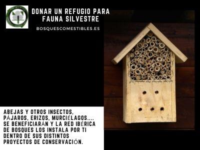 Donar un Refugio para fauna Silvestre